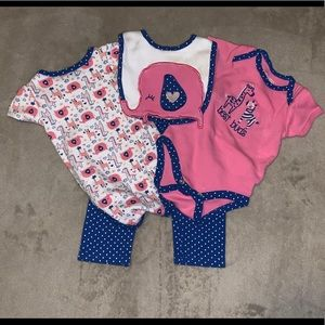 4 pc Elephant outfit
